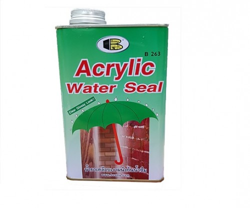 Acrylic water seal