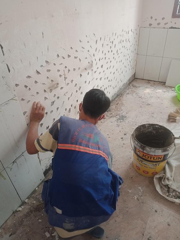 Xử lý chống thấm tường nhà TPHCM