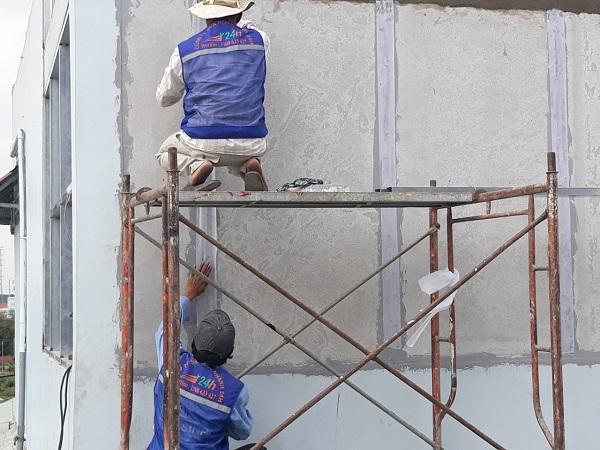 Dịch vụ chống thấm công trình tại quận Tân Phú
