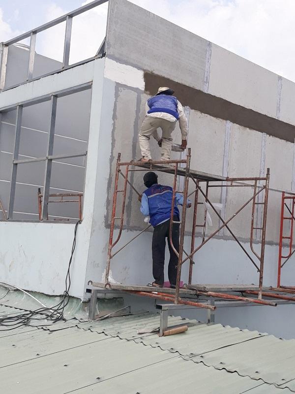 Dịch vụ chống thấm tại quận Tân Phú