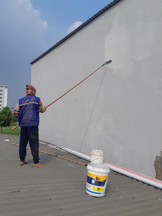 Bôi sơn chống thấm cho tường